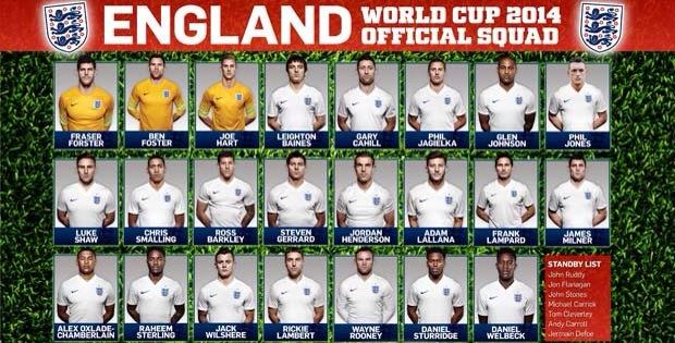 The England 23