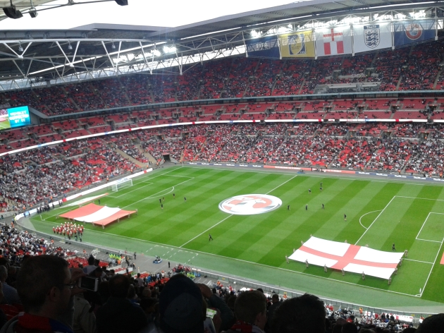 England versus Peru