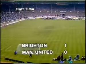 1983 Half time score