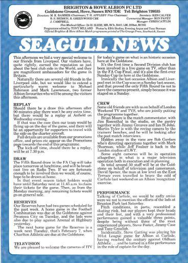 1984 programme notes