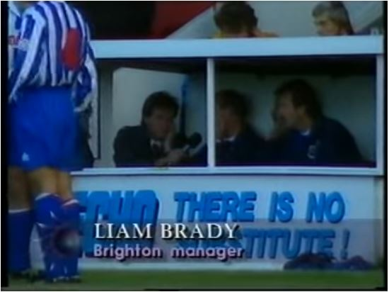 Bournemout ITV 95 Manager interview caption