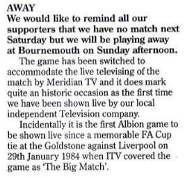 Meridian Match programme