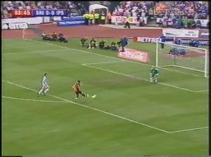 Ipswich 05 one nil