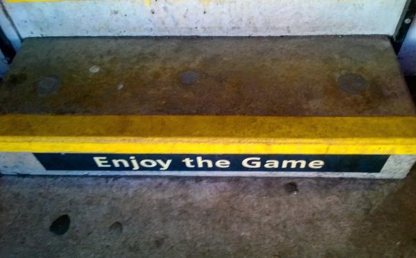 Enjoy the game