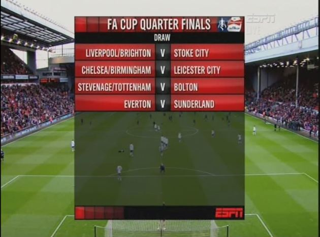 LIV Quarter Final Draw