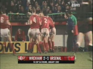 WRE v Arsenal