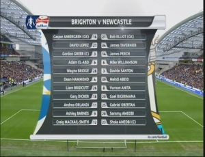 ITV Line Ups