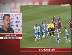 DER Garcia pre match