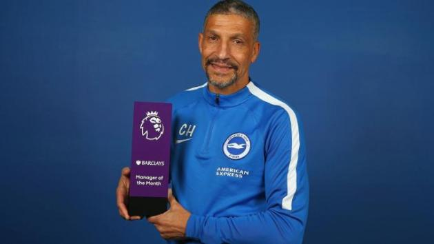 Hughton Manager of the Month