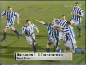 Chesterfield Scoreline