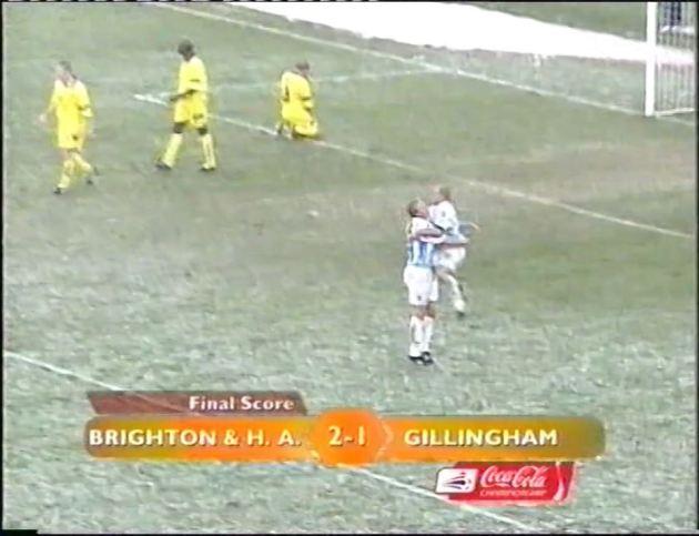 Gillingham scoreline