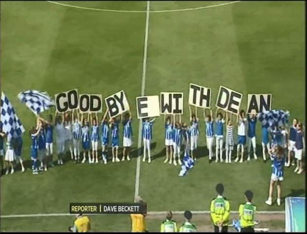 Huddersfield Goodbye