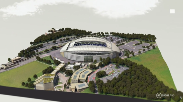 The Amex as seen on Premier League Match Pack