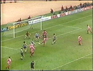 91POF Wilkins goal