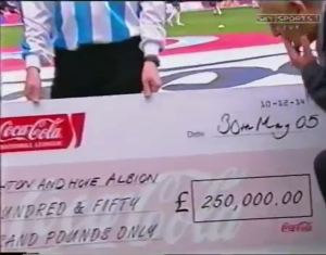 WIN Cheque