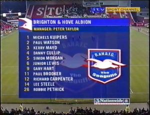 STO Brighton team