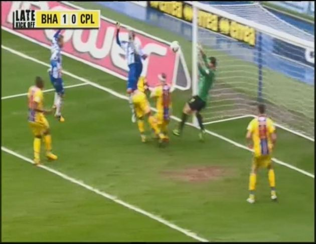 CRYH Ulloa goal
