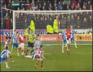 FAC Walcott goal