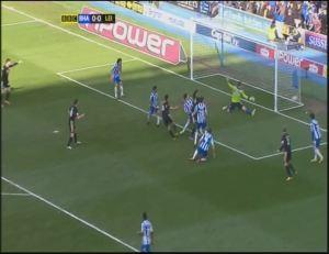 LEI James goal